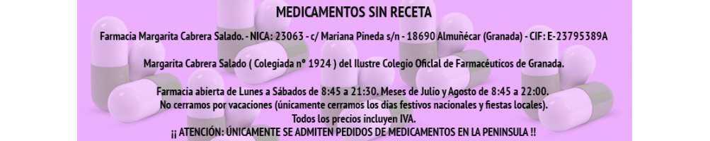 MEDICAMENTOS SIN RECETA